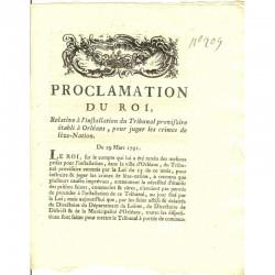 Proclamation Royale ( 051 )