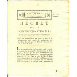 Decret Revolutionaire 1792 ( 047 )
