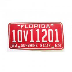 Plaque d Immatriculation USA - Floride ( 909 )