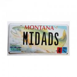 Plaque d Immatriculation USA - Montana ( 914 )