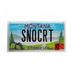 Plaque d Immatriculation USA - Montana ( 918 )