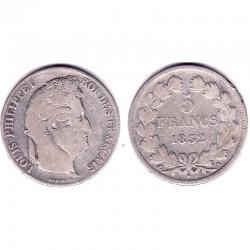 5 francs Louis Philippe 1832 A Argent ( 001 )