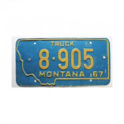 Plaque d Immatriculation USA - Montana ( 1005)