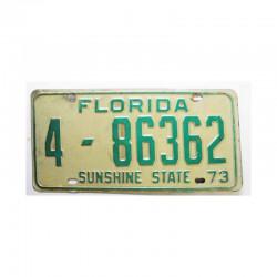 Plaque d Immatriculation USA - Floride ( 1006 )