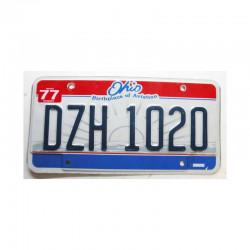Plaque d Immatriculation USA - Ohio ( 1008 )