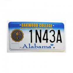 Plaque d Immatriculation USA - Alabama ( 1010 )