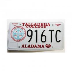 Plaque d Immatriculation USA - Alabama ( 1011 )