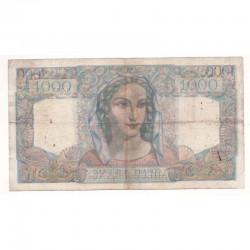 1000 F Minerve et Hercule 09/01/1947 TB + ( 199 )