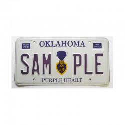Plaque d Immatriculation USA - Oklahoma ( 007 )