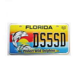 Plaque d Immatriculation USA - Floride ( Rep - 083 )
