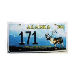 Plaque d Immatriculation USA - Alaska ( Rep - 070)