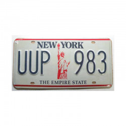 Plaque d Immatriculation USA - New York  ( Rep - 001)