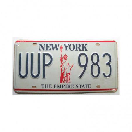 Plaque d Immatriculation USA - New York  ( Rep - 001)