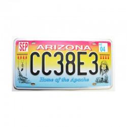 Plaque d Immatriculation USA - Arizona ( Rep - 061 )