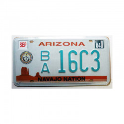 Plaque d Immatriculation USA - Arizona ( Rep - 062 )