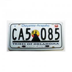 Plaque d Immatriculation USA - Oklahoma ( Rep - 060)
