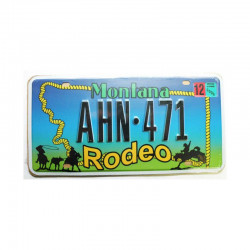 Plaque d Immatriculation USA - Montana ( Rep - 079)