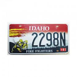 Plaque d Immatriculation USA - Idaho ( Rep - 047 )
