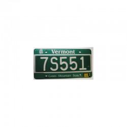 Plaque d Immatriculation USA - Vermont ( 377 )