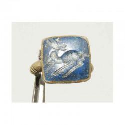 Bague ancienne du Pakistan ciselée taille 54 ( 045 )