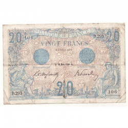 20 F Bleu 28/03/1906 TTB - 068