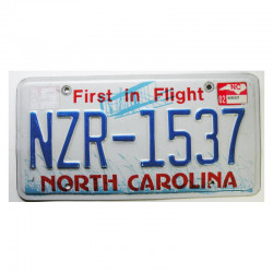 Plaque d Immatriculation USA - North Carolina ( 072 )