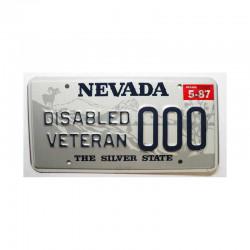 Plaque d Immatriculation USA - Nevada ( 061 )