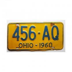 Plaque d Immatriculation USA - Ohio ( 052 )