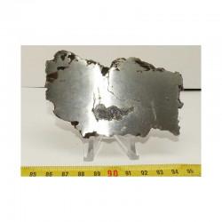 Tranche de Meteorite Campo del Cielo ( 127 grs - 006 )
