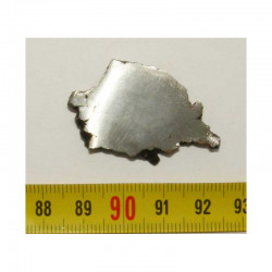 Tranche de Meteorite Campo del Cielo ( 19,50 grs - 010 )