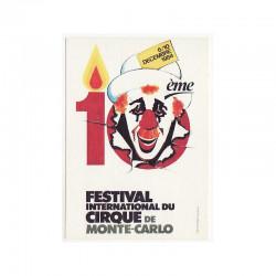 CPA Monaco Festival du Cirque 1984 ( 93 )
