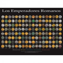 poster  les Empereurs Romain version espagnole