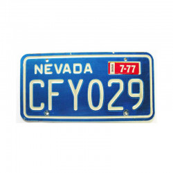 Plaque d Immatriculation USA - Nevada ( 1080 )