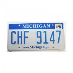 Plaque d Immatriculation USA - Michigan ( 1078 )