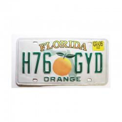 Plaque d Immatriculation USA - Floride ( 1066 )