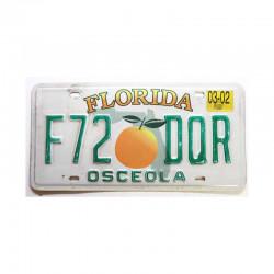 Plaque d Immatriculation USA - Floride ( 1064 )