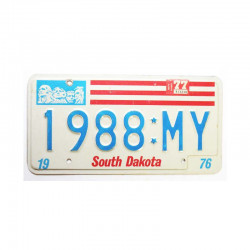 Plaque d Immatriculation USA - South Dakota ( 1062 )