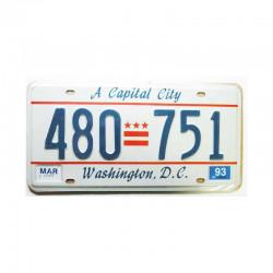 Plaque d Immatriculation USA -Washington ( Rep - 036 )