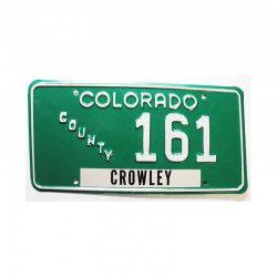 Plaque d Immatriculation USA - Colorado ( 1137 )