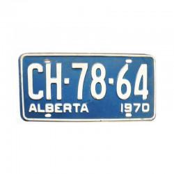 Plaque d Immatriculation Alberta ( 1117 )