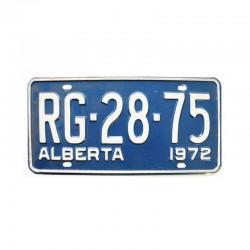Plaque d Immatriculation Alberta ( 1115 )