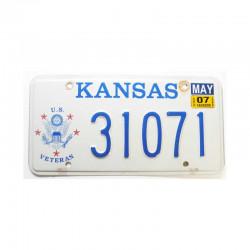 Plaque d Immatriculation USA - Kansas (1102 )