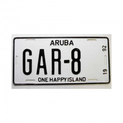 Plaque d Immatriculation Aruba ( 1085 )