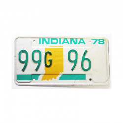 Plaque d Immatriculation USA - Indiana ( 1090 )