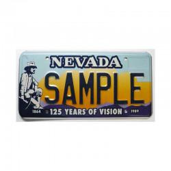 Plaque d Immatriculation USA - Nevada ( 1095 )
