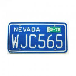 Plaque d Immatriculation USA - Nevada ( 1140 )
