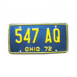 Plaque d Immatriculation USA - Ohio ( 1096)