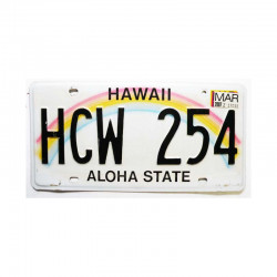 Plaque d Immatriculation USA - Hawaii ( 1145 )