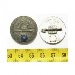 Allemagne / 3 iem Reich -  Badge Tierkreiszeichen mit Halbedelstein  1937 ( 034 )