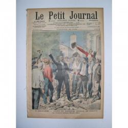 Le Petit Journal 1909 N° 867 Apres la derniere sceance